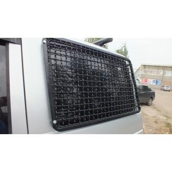 Защита окон УАЗ Патриот задних боковых сетка ф 6мм