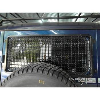 Защита заднего окна УАЗ Хантер сетка ф6 мм