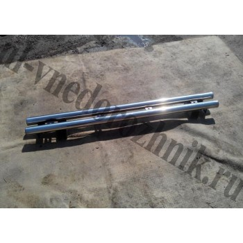 Люстра на УАЗ Патриот кронштейн крепления галоген нержавейка труба ф 51 мм