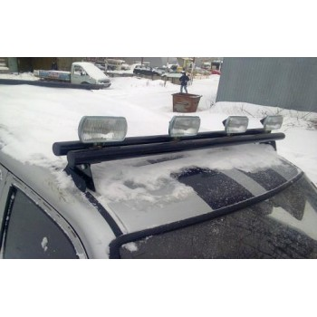 Люстра на УАЗ Патриот кронштейн крепления галоген труба ф 51 мм