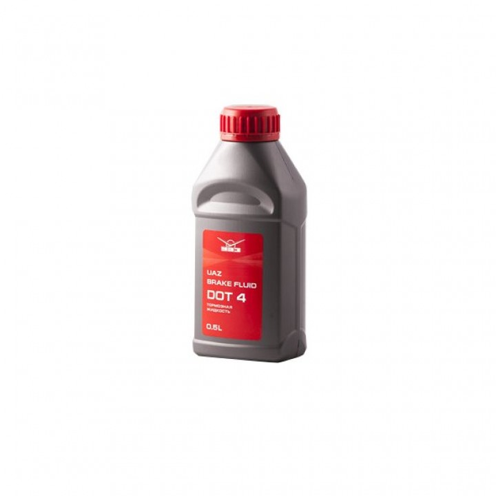 Жидкость тормозная UAZ DOT-4 0,5 Л