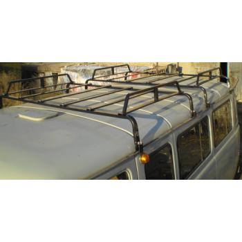 Багажник УАЗ буханка разборный 8 опор 2 секции