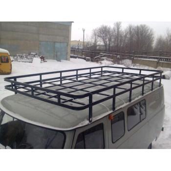 Багажник на УАЗ 452 буханка Экспедиция 12 опор 3.20м