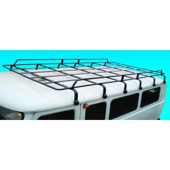 Багажник на УАЗ 452 удлиненный усиленный на 12 опор 3 метра