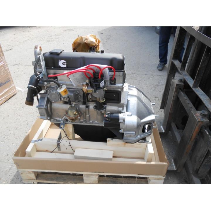 Двигатель УМЗ 4218 для УАЗ 100л.с. рычажное сцепление