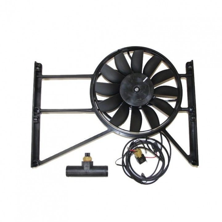 Дополнительный электровентилятор радиатора УАЗ 469 и 452 буханка под инжекторный двигатель