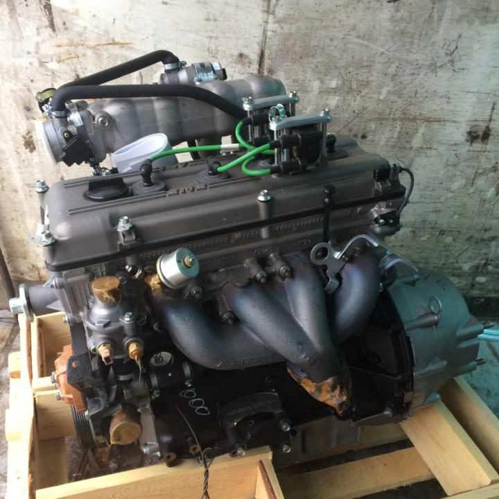ДвигательУАЗ Патриот  ЗМЗ-409 с оборудованием Евро-2 409.1000400