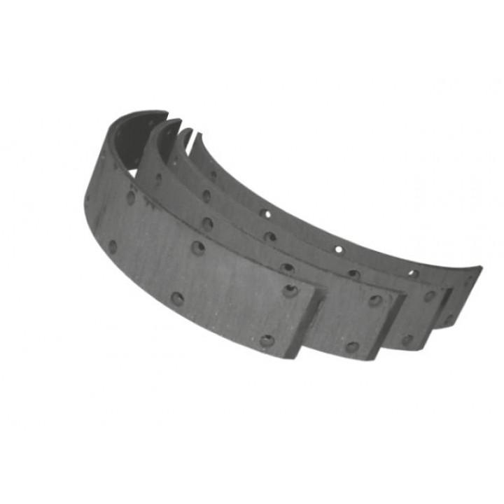 Ремкомплект № 025 колодки барабанного тормоза (накладка4+заклепка48)(АДС)