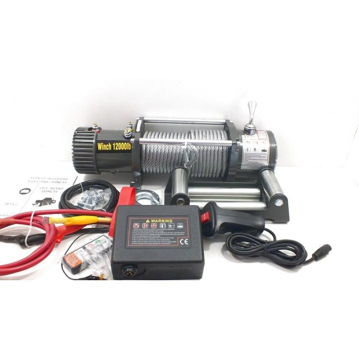 Лебедка УАЗ ELECTRIC Winch 12000Lbs 12v, Speed Force 4840