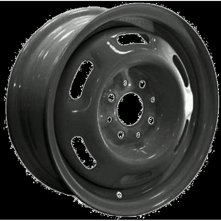Диск колеса  R-16 черный (прямоуг.отвер)(Челябинск) 3162-20-3101015
