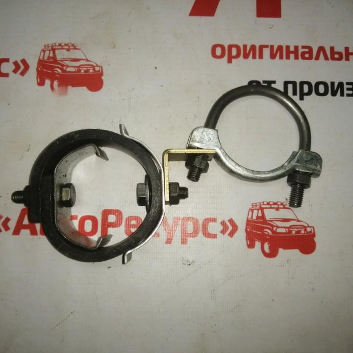 Хомут подвески глушителя и резонатор большой 55 мм с ремнем Киров