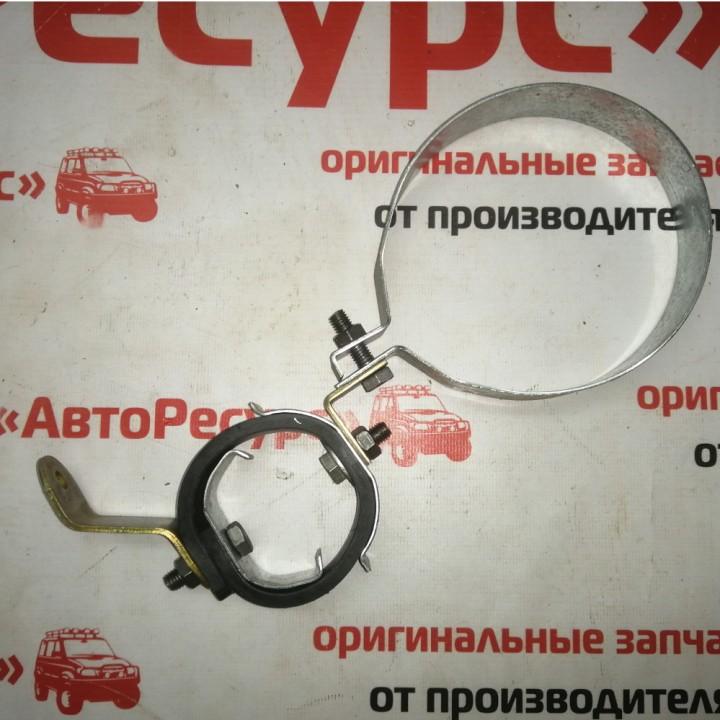 Хомут подвески глушителя и резонатор УАЗ 130 мм с ремнем Киров
